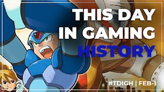 THIS DAY IN GAMING HISTORY (TDIGH) - FEBRUARY 1