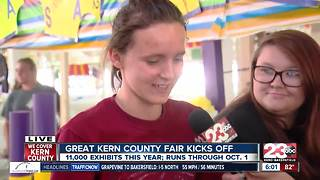 Kick off of the Kern County Fair - Video