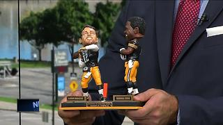 Limited edition: Aaron Rodgers to Randall Cobb Hail Mary bobblehead unveiled - Video