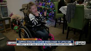 Zappos pays for custom wheelchair to replace stolen one - Video