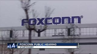 The Foxconn debate moves to SE Wiscsonsin - Video