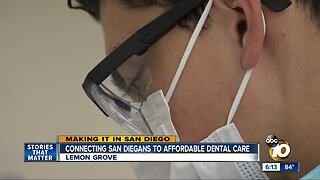 Connecting San Diegans to affordable dental care