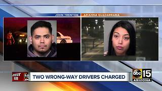Impaired wrong-way drivers arrested, identified - Video