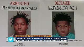 Clearwater detectives charge 17-year-old with 2nd degree murder in fatal carjacking - Video