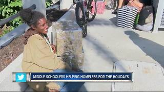 Bradenton students head to homeless camps to help - Video