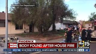 Body found after west Phoenix house fire