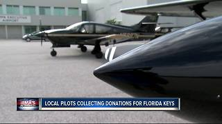 Local pilots plan to fly to Key West with supplies after Irma - Video