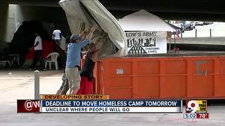 Downtown residents say city officials aren't doing enough about homeless encampment - Video