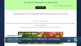 Ideal Nutrition Now offers discounts to medical workers