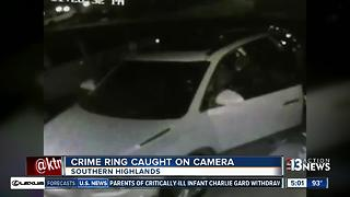Southern Highland car break-ins caught on camera - Video