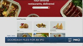 DoorDash files for an IPO