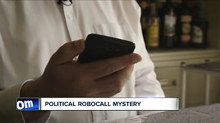 Political robocall mystery