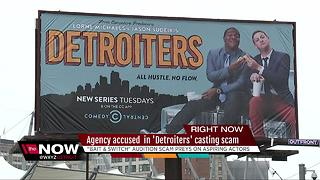 Fake casting company scams actors who want to appear on Detroiters - Video