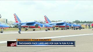 Command post staffed 24/7 to ensure safe Sun 'n Fun Fly-in in Lakeland - Video