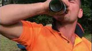 Tradesman Overcomes Several Obstacles for His After Work Drinks