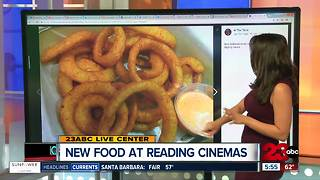 New food at Reading Cinemas - Video