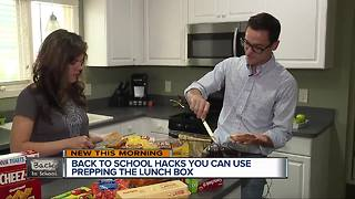 Back to school hacks you can use prepping lunch for kids - Video