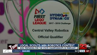 Local Girl Scouts win robotics competition