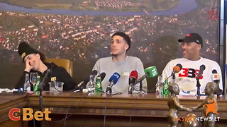 Watch Reporter Ask LiAngelo Ball On A Date During First Press Conference In... - Video