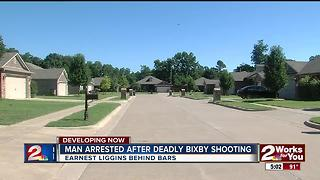 Man srrested after deadly shooting in Bixby - Video