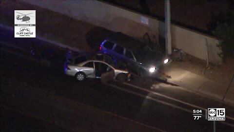 3 teens, 1 adult injured in crash near 19th Ave and Dunlap