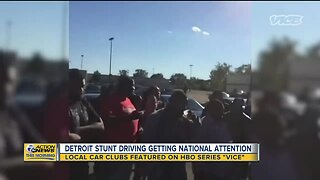 Detroit stunt driving getting national attention