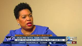 How to help your teen deal with stress