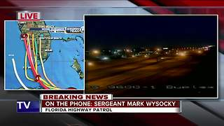 FHP updates Florida road conditions Saturday morning ahead of Irma - Video