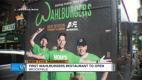 Paul Wahlberg talks new Wahlburgers location opening up in Brookfield
