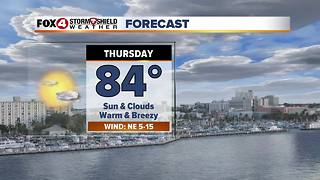 Warm Weather Continues 11-29