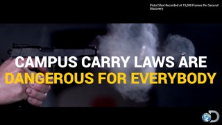 Open Carry On College Campuses? - Video