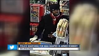 Milwaukee police looking for south side grocery store robber - Video