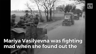 Nazis Killed Her Husband, So She Bought A Tank And Went On A Revenge Killing Spree - Video