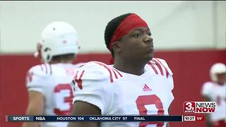 Jones Back Practicing With Huskers - Video