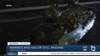 Search for service members continues into Saturday