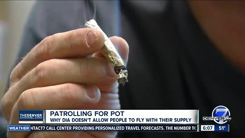 Your weed is still not welcome at DIA even as other airports allow it