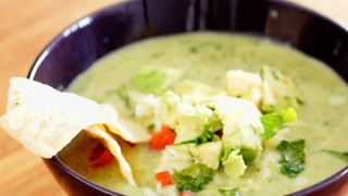 Avocado Chicken Tortilla Soup - Video