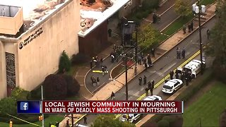 Local Jewish community stepping up security in the wake of the Pittsburgh attack