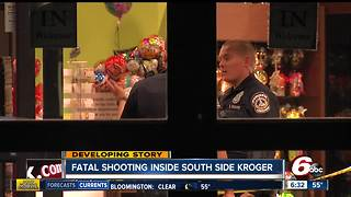 Developing: Fatal shooting inside South side Kroger - Video