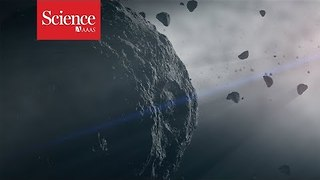 Dark asteroids reveal secrets of the early solar system - Video