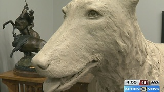 Sculpture honors fallen OPD K-9 - Video