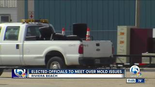 Riviera Beach City Council to hold special meeting to discuss mold issues