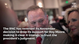 RNC Reverses Course, Comes Running to Help Moore Win - Video
