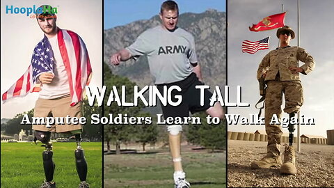 Walking Tall- Amputee Soldiers Learning to Walk Again