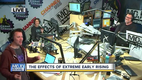 Mojo in the Morning: The effects of extreme early rising