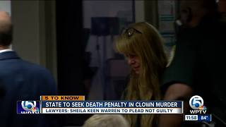 State to seek death penalty in 'killer clown' case - Video