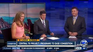 Central 70: Programs to ease congestion - Video