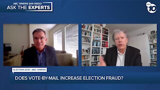 ASK THE EXPERTS: Does vote-by-mail increase election fraud?