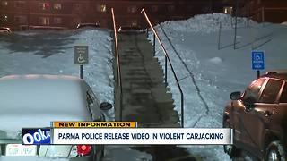 Victim, bystander chase after Parma carjackers - Video