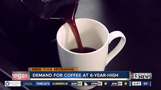 Demand for coffee at 6-year high - Video